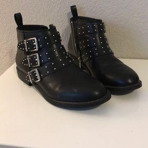 Embellished ankle boots